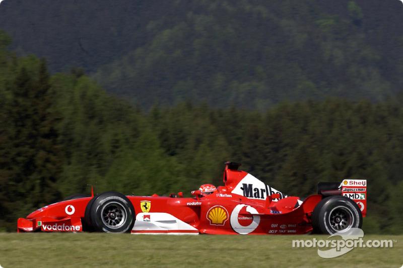 2003: Michael Schumacher, Ferrari F2003-GA