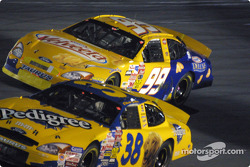 Elliott Sadler and Jeff Burton