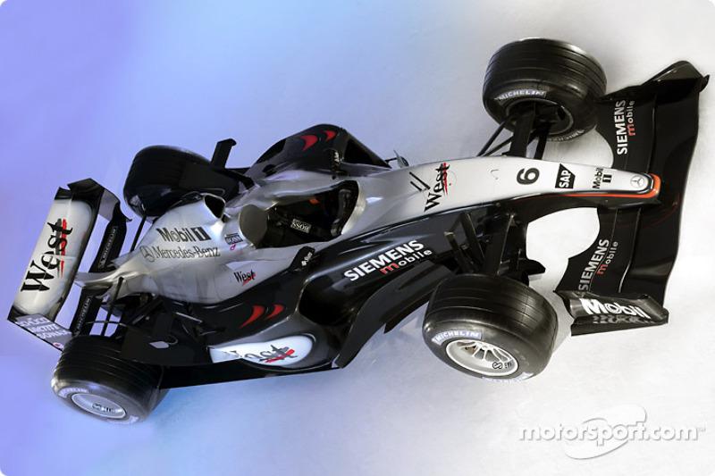 37. McLaren Mercedes MP4/18