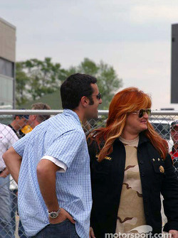 Dario Franchitti and Wynonna Judd