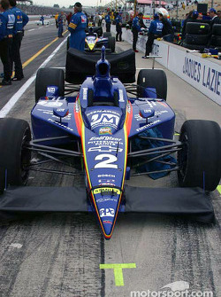 Jaques Lazier's car