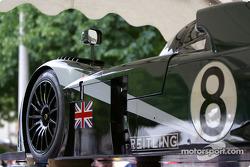 #8 Team Bentley Bentley Speed 8 at stage 2