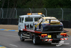 Another casualty of the qualifying session