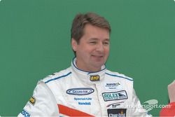 Scott Goodyear and the green screen
