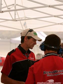 Rennwerks engineer, Craig Watkins