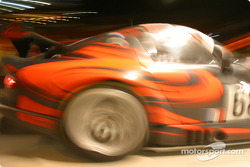 #68 Scorp Motorsport Chrysler Viper GTSR in the pits: artistic impression