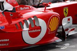 Ferrari en la parrilla de salida