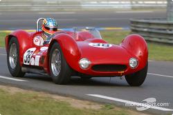 #38 Maserati Birdcage: Alan Minshaw, Jason Minshaw