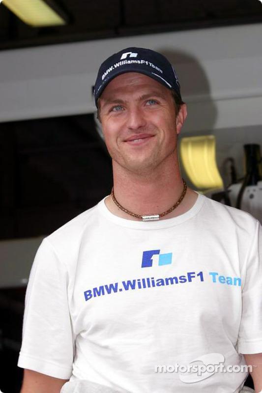 Un Ralf Schumacher heureux