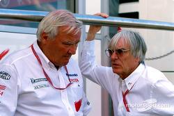Ove Andersson and Bernie Ecclestone