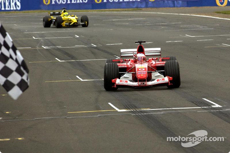 2003. Переможець: Рубенс Баррікелло, Ferrari