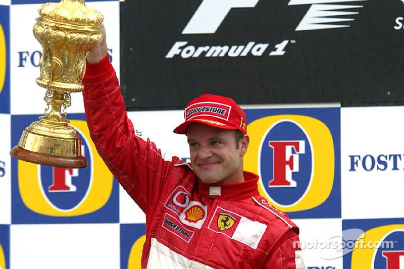 Rubens Barrichello (9 victorias)