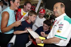 Sauber 10 años en Fórmula 1 Exposición en Hockenheim