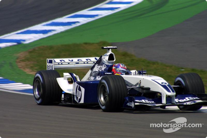 2003 - Hockenheim: Juan Pablo Montoya, Williams-BMW FW25