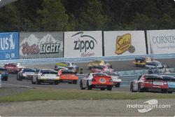 Into turn two