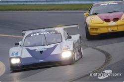 #54 Bell Motorsport leads into turn 11