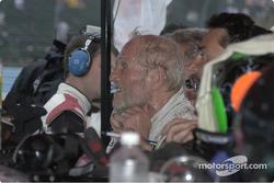Paul Newman after a hot run