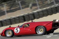 #5 1967 Lola T-70 GT waves to the fans