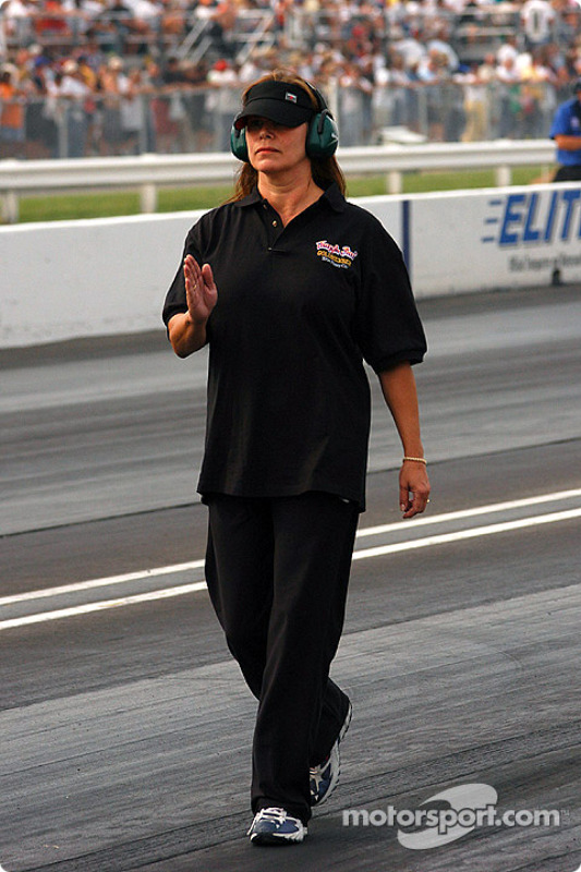 """Jungle Pam"" Hardy at Indianapolis"