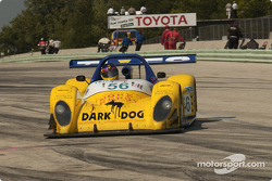 la Pilbeam MP91 / Willman 6 n°56 du Team Bucknum Racing pilotée par Jeff Bucknum, Bryan Willman, Chris McMurry