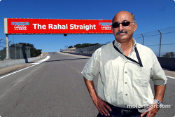 Racing great Bobby Rahal was honored Friday when Mazda Raceway Laguna Seca in Monterey, Calif., named a portion of the race track for him