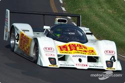 La #4 Lola T92/10 de 1992, détenue par Stan Wattles