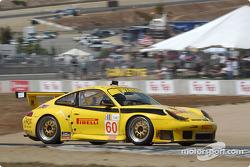 #60 P.K. Sport Porsche 911 GT3 RS: Robin Liddell, Alex Caffi