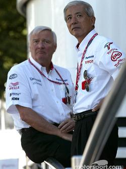 Ove Andersson and Akihiko Saito, EVP Toyota Motor Corporation