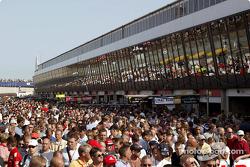 Fans op Circuit Park Zandvoort