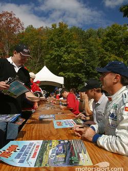 Drivers autograph session: Andy Pilgrim