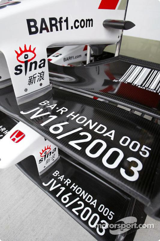 Des nez de BAR-Honda
