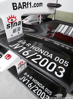 BAR-Honda nose cones