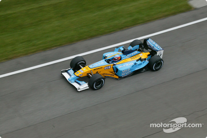 2003 : Fernando Alonso, Renault R23B
