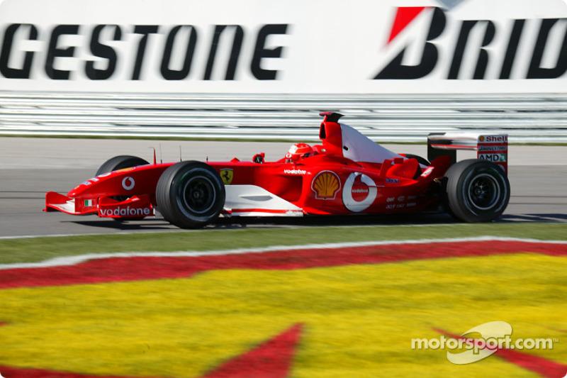 2003: Ferrari F2003-GA (семь побед, титул в КК)