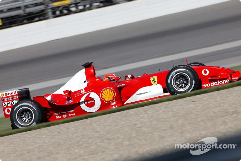 2003 (Indianapolis): Michael Schumacher (Ferrari F2003-GA)