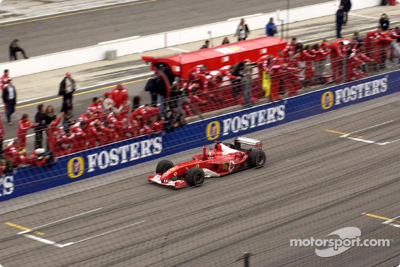 2003: Michael Schumacher