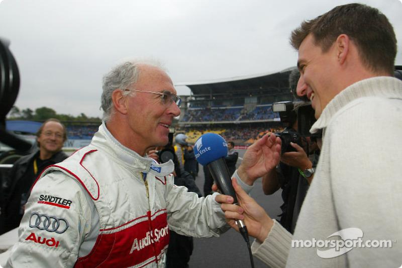 Franz Becker tries the Abt-Audi TTR race taxi