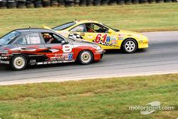 #61Colletti Motorsports Acura Integra R: Joe Ellis, Steve Colletti, et #8 Archangel / LAMZ Mike Johnson Nissan Sentra SE-R: Troy Hanson, Ryan Eversley