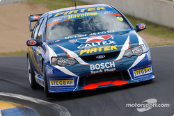 Konica Champion Mark Winterbottom stepped up to the V8 Supercars for Stone Bros Racing