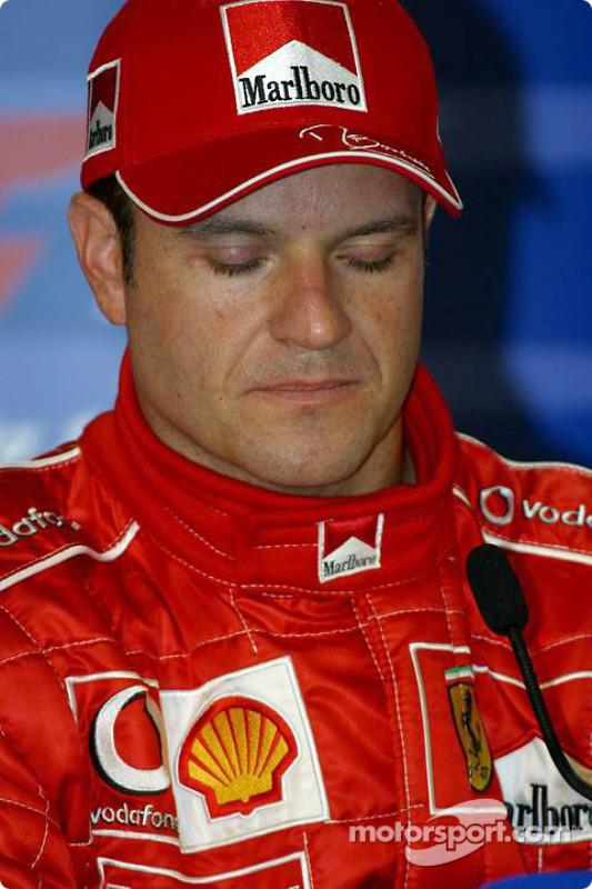 Conferencia de prensa sábado: Rubens Barrichello