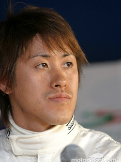 Post-qualifying press conference: Seiji Ara