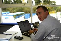 Renault F1 technical director Bob Bell