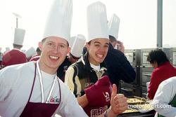 Ryan Briscoe and Cesar Campanico