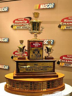 Le dernier Winston Cup Trophy a été attribué à Matt Kenseth