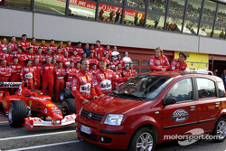The drivers and the new Panda