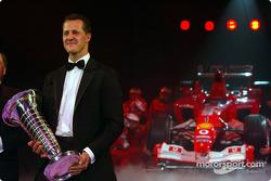 Чемпион мира Ф1 Михаэль Шумахер и Ferrari F2003 GA