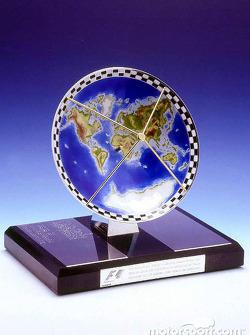 Formula One TV trophy