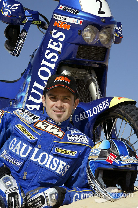 Présentation KTM : Cyril Despres