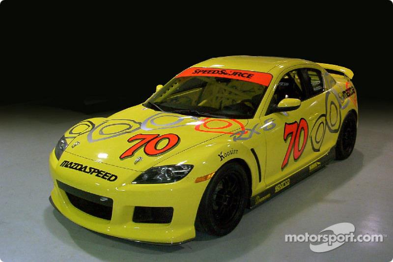 Presentation of the SpeedSource ST 2004 Mazda RX-8