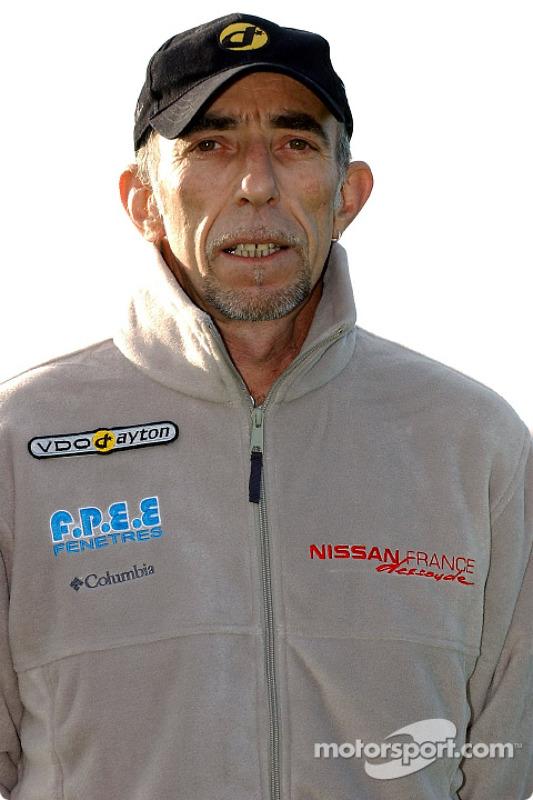 Présentation de l'équipe Nissan Dessoude : Bernard Irissou